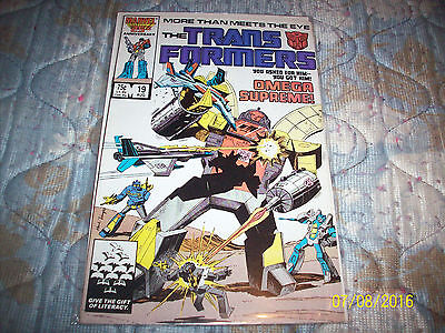 Marvel Transformers # 19 good condition