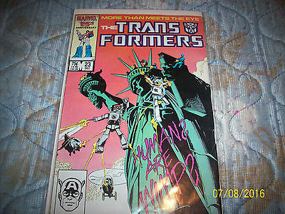 Marvel Transformers # 23 good condition
