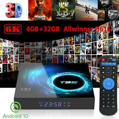 Android 7.1.1 Nougat DDR4 3+32G Octa Core Media Player 4K DUAL WIFI Smart TV BOX
