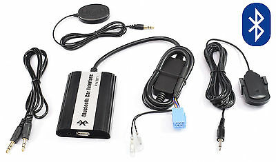 Bluetooth AUX Adapter Interface Renault Megane II 2002 - 2009 Freisprechanlage