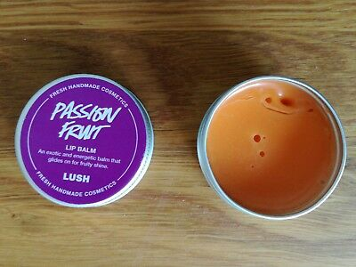 NEW Lush passion fruit LIP BALM full size pot soon to be discontinued fruity