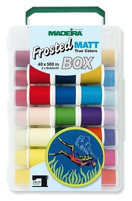 Madeira Smartbox Frosted MATT No.40 (40 Farben x 500 m)  8088