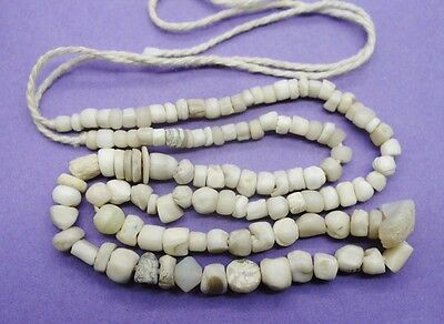 Ancient Roman shell and stone bead necklace 1st-2nd century AD