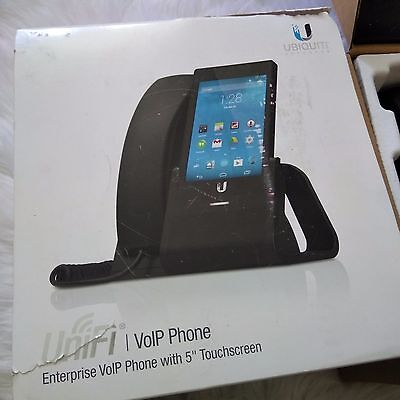 """UBIQUITI NETWORKS UniFi UVP Enterprise VoIP Phone 5"""" Touchscreen - Pre-Owned"""