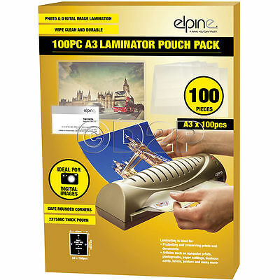 A3 Laminating Pouches Pack Of 100 Image Last 75 Micron Lamination Pouch Sheets B