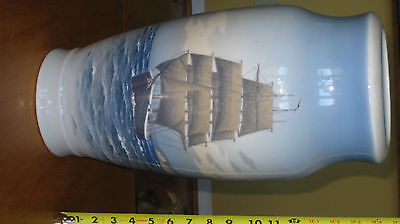 "royal copenhagen 18"" Vase schooner picture made before 1938, perfect condition"