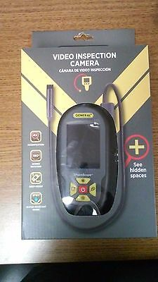 New General Tools PCS55 Palm Scope Video Inspection Camera System