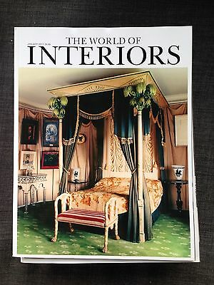 THE WORLD OF INTERIORS January 2017
