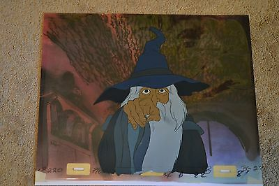 Lord of the Rings Animation production cel Bakshi Gandalf anime lotr hobbit