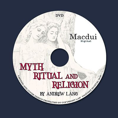 Myth, ritual and religion 1899 by Andrew Lang 2 Volume Set PDF E-Books 1 on DVD