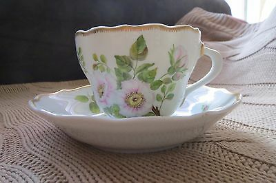 Hutschenreuther porcelain cup and plate
