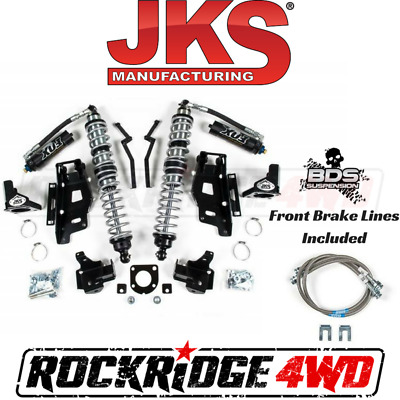 "JKS Jeep Wrangler JK 07-11 Front FOX Coilovers w DSC & Bracket Kit 3""-3.5"" Lift"