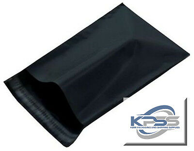 12x15.5 Black PolyMailers Poly Mailer Uneekmailers Same Day Shipping Avail