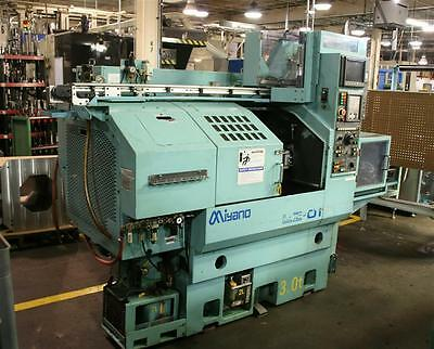 Used Miyano LZ-01 2 Axis Turning Center Lathe w/ Auto Load and Unload Capability
