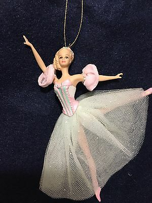 PORCELAIN BARBIE Ornament MARZIPAN Nutcracker BALLERINA 1999 Avon