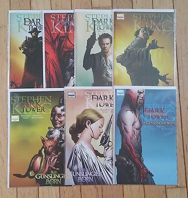 Marvel Comics Stephen King The Dark Tower  #1 2 3 4 5 6 7 Complete Series Set