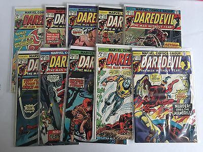 Daredevil Lot 9--Issues 112,113,114,115,116,117,118,119,120,121