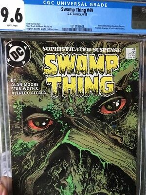 Swamp Thing #49 (CGC 9.6 NM+) (DC 1986) 1st Justice League Dark! Alan Moore!
