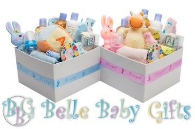 Newborn Baby gift Package hamper - Blue, Pink, Yellow