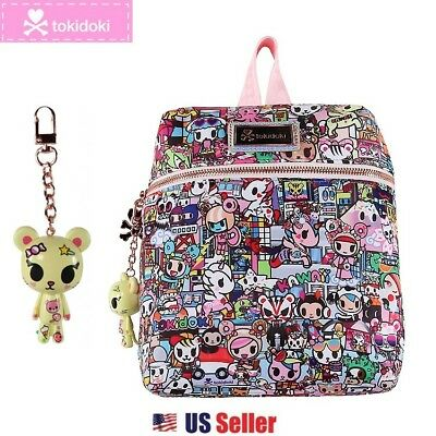 Tokidoki Mini Backpack w/ Removable Mascot Charm : Kawaii Metropolis Collection