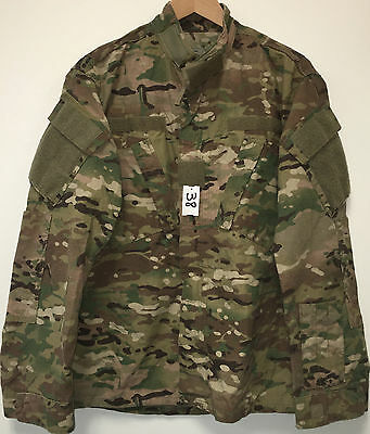 Us Army Ocp Multicam Fr Rs Insect Guard Shirt Medium Regular Nwot (3_38)