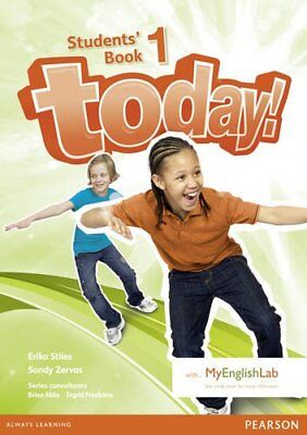 Today! 1 Students' Book and MyLab Pack, Freebairn, Ingrid, New Book