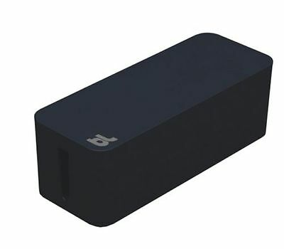 blueLounge CableBox - Black - Cable Management - CB-01-BL - Brand New