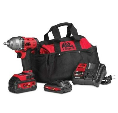 NEW!! MAC Tools 3/8 20v Impact Wrench Gun Kit. 535$ Value After Taxes BWP138-Z2