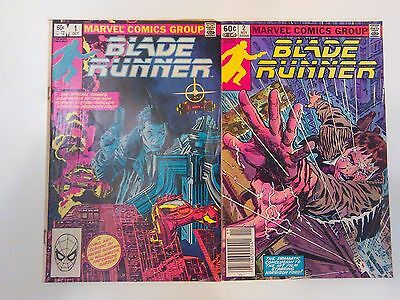 Marvel Blade Runner Issues 1 and 2. First Printing.