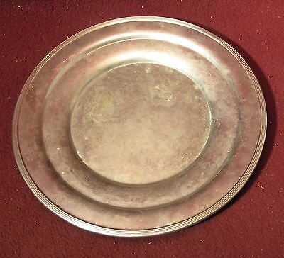 Vintage Royal Rochester Silver Plated Dish Plate Platter #3706