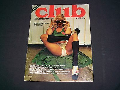 Vintage First Issue Club Magazine--February 1975