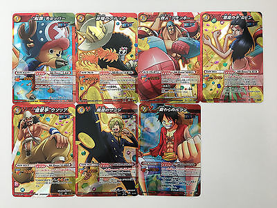 One Piece Miracle Battle Carddass Miracle Set OP08 7/7