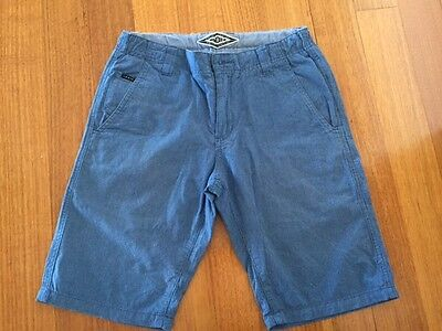 Boys Blue Industrie Shorts Size 14