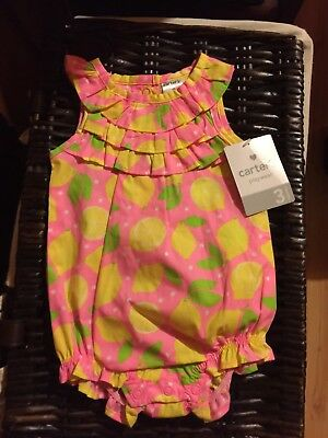 Baby Girl Clothes NWT Carter's 3 Months