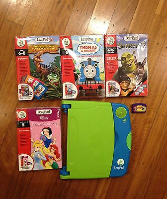 LeapPad + 4 Games - Kids Educational computer Game