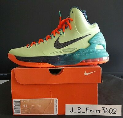low priced 7ae88 1c679 Nike KD V5 Area 72 Extraterrestrial All-Star ASG Durant Galaxy Size 11