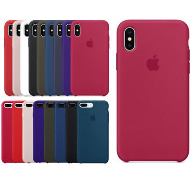 Genuine Original Ultra Thin Silicone Case Cover for Apple iPhone 8 7 6 6s Plus