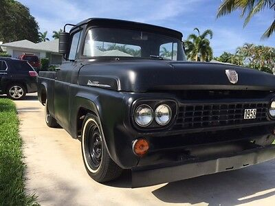 1958 Ford F-100  1958 ford f-100