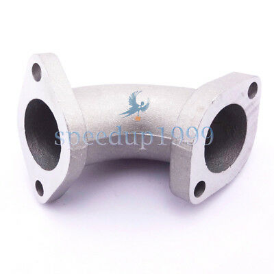Moteur Carb YX-02 Pipe D'admission 27mm 30°Pour 125cc 140cc 150cc Pit Dirt Bike