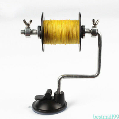 Portable Fishing Line Reel Spooler Spool Winding Winder System Ultimate Tackle P