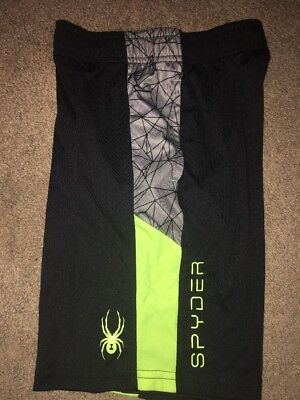 Spyder Youth Athletic Shorts Small New