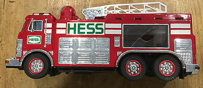 2005 Hess Collectible Toy Fire Truck and Ladder Rescue