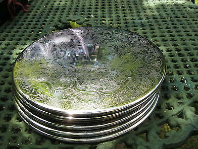 Boxed Set Vintage Silverplated Strachan Placemats