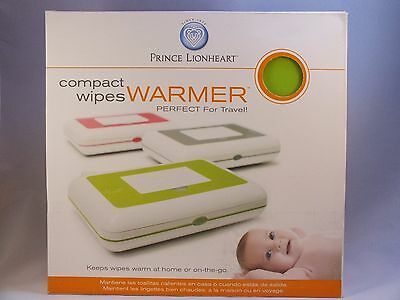 Prince Lionheart Compact Wipes Warmer Green/Fuchsia Keeps Wipes Warm On The Go