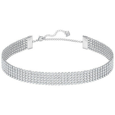 NEW Swarovski Fit Palladium Choker