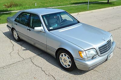 1995 Mercedes-Benz S-Class S500 Low mileage, gorgeous original example. Very clean & fully operational.