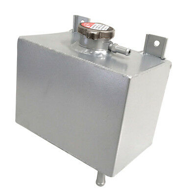 Universal Aluminum Alloy Radiator Overflow Coolant Tank Bottle Water
