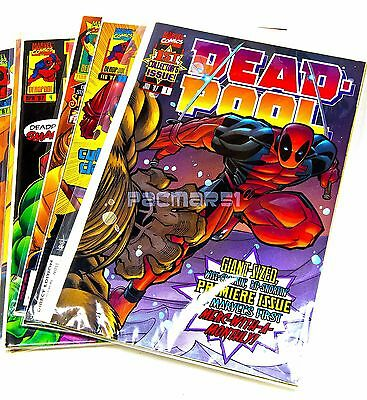 DEADPOOL #1,2,3,4,5,6 (1997) Marvel Comics, Full Set NM/VF