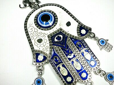 Ottoman Prayer Hamsa Hand Nazar Evil Eye Car House Safety Lucky Protection Charm