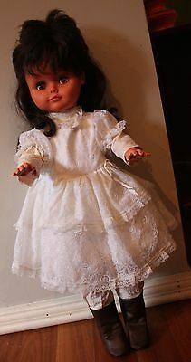 Large 65cm plastic Regal doll, made in Canada